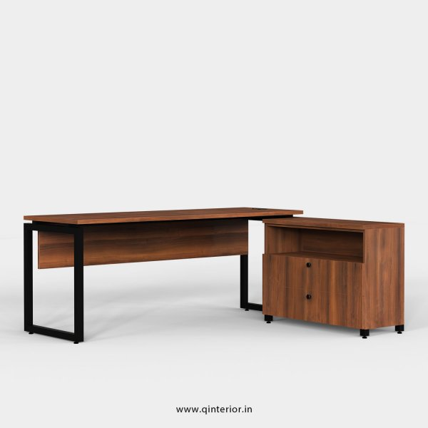 Aaron Executive Table in Teak Finish - OET115 C3