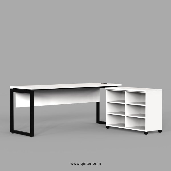 Aaron Executive Table in White Finish - OET102 C4