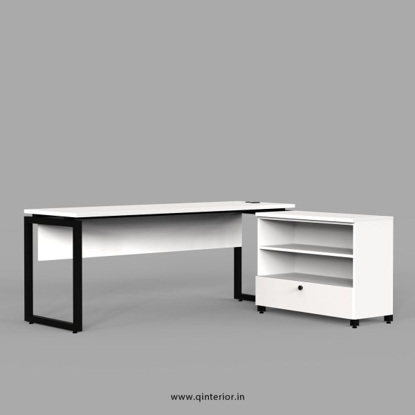Aaron Executive Table in White Finish - OET116 C4
