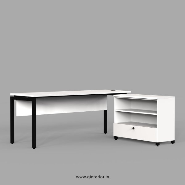 Montel Executive Table in White Finish - OET116 C4