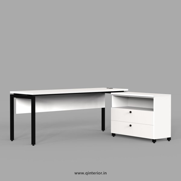 Montel Executive Table in White Finish - OET115 C4