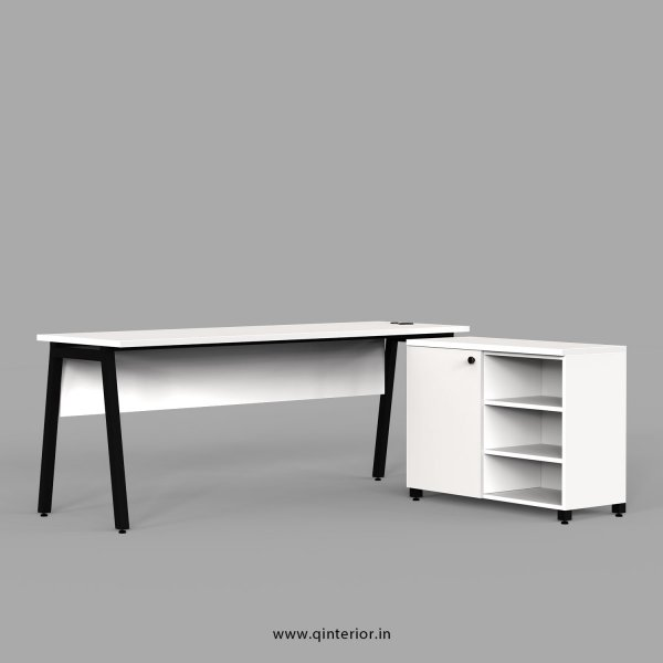 Berg Executive Table in White Finish - OET113 C4