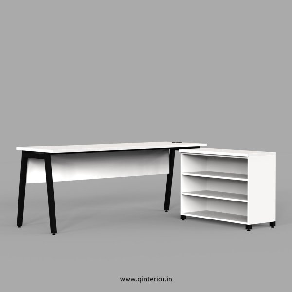 Berg Executive Table in White Finish - OET101 C4