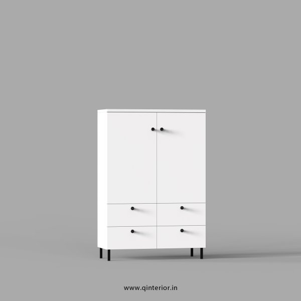 Stable Office File Storage in White Finish - OFS011 C4