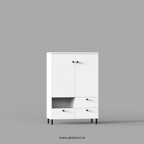 Stable Office File Storage in White Finish - OFS016 C4