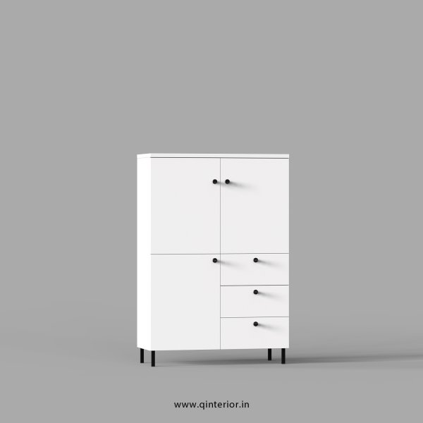 Stable Office File Storage in White Finish - OFS024 C4