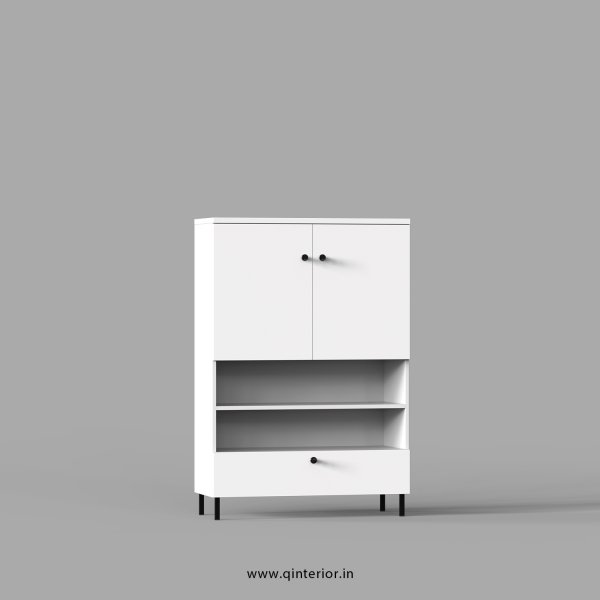 Stable Office File Storage in White Finish - OFS033 C4