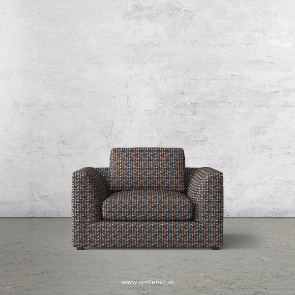 IRVINE 1 Seater Sofa in Bargello - SFA003 BG04