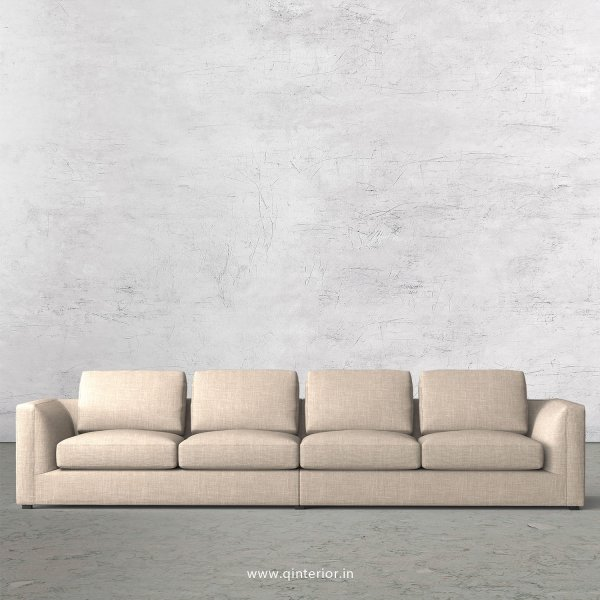IRVINE 4 Seater Sofa in Cotton Fabric - SFA003 CP02