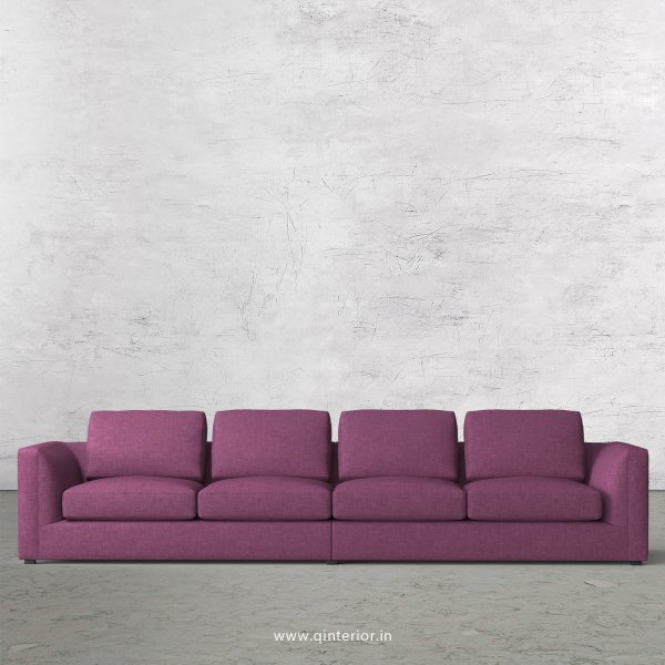 IRVINE 4 Seater Sofa in Cotton Fabric - SFA003 CP26
