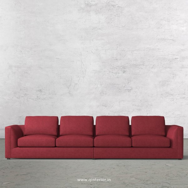 IRVINE 4 Seater Sofa in Cotton Fabric - SFA003 CP24