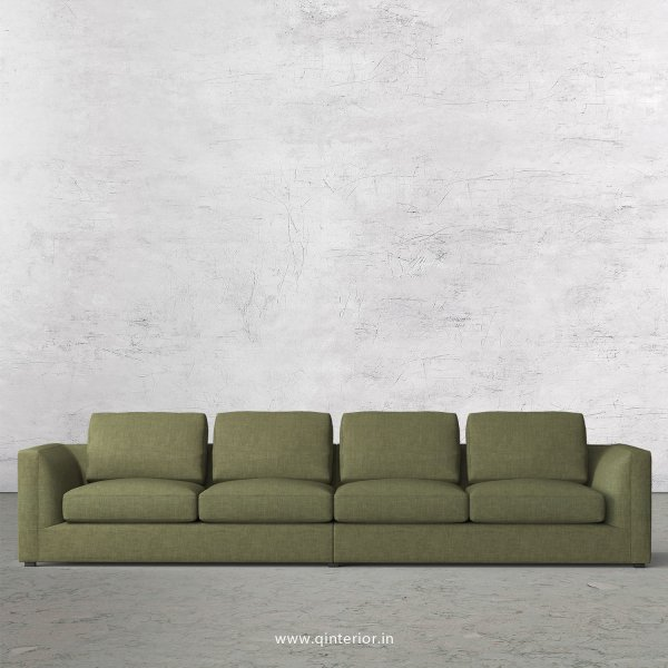 IRVINE 4 Seater Sofa in Cotton Fabric - SFA003 CP20