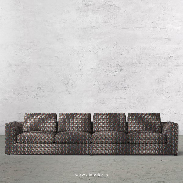 IRVINE 4 Seater Sofa in Bargello Fabric - SFA003 BG04