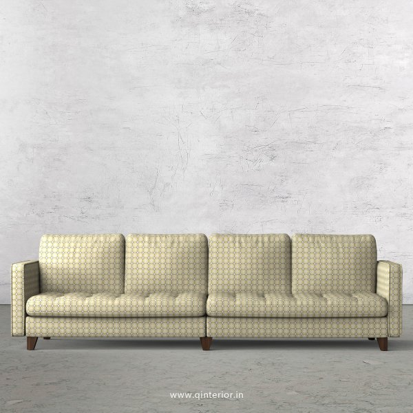 Albany 4 Seater Sofa in Jacquard Fabric - SFA005 JQ15