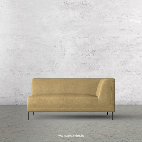 Luxura 2 Seater Modular Sofa in Fab Leather Fabric - MSFA005 FL01