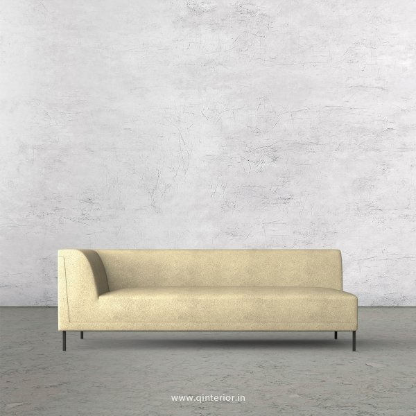 Luxura 3 Seater Modular Sofa in Fab Leather Fabric - MSFA003 FL10