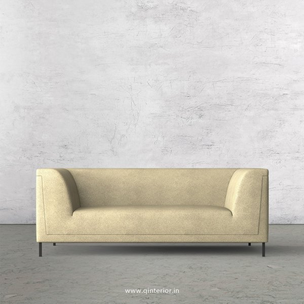 LUXURA 2 Seater Sofa in Fab Leather Fabric - SFA017 FL10