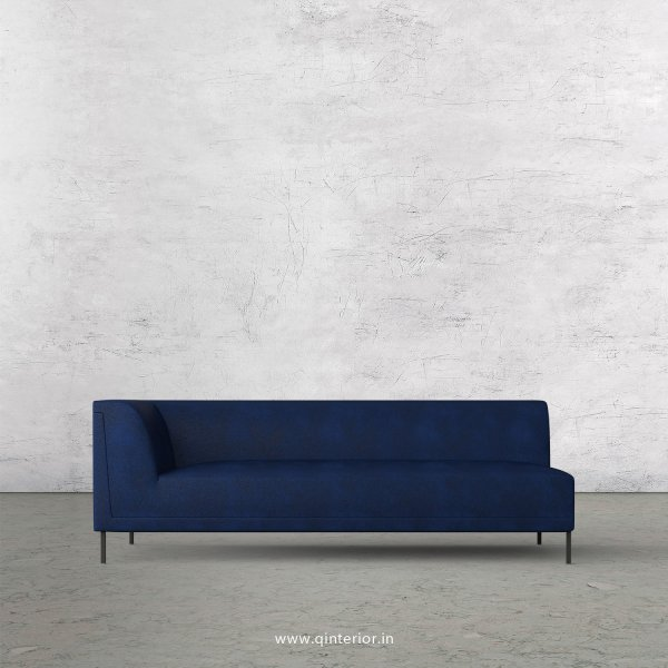 Luxura 3 Seater Modular Sofa in Fab Leather Fabric - MSFA003 FL13