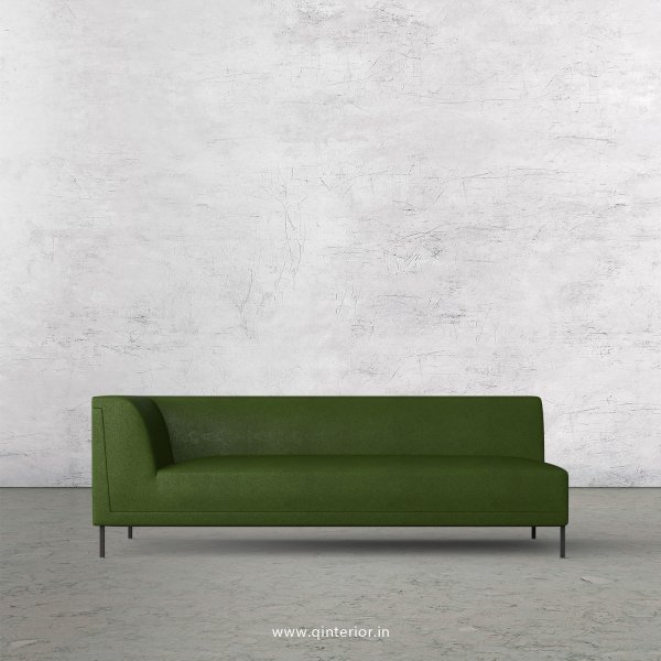 Luxura 3 Seater Modular Sofa in Fab Leather Fabric - MSFA003 FL04