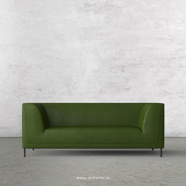 LUXURA 2 Seater Sofa in Fab Leather Fabric - SFA017 FL04