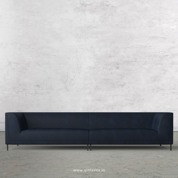 LUXURA 4 Seater Sofa in Fab Leather Fabric - SFA017 FL05