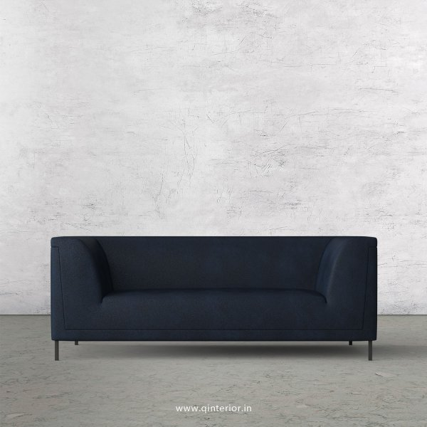 LUXURA 2 Seater Sofa in Fab Leather Fabric - SFA017 FL05