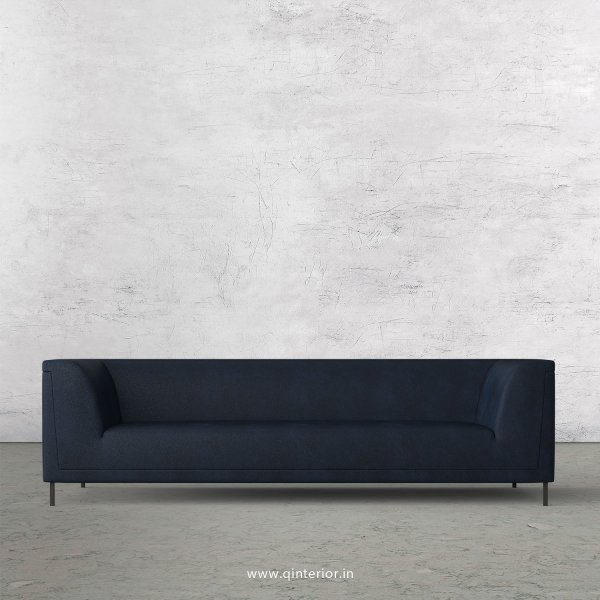 LUXURA 3 Seater Sofa in Fab Leather Fabric - SFA017 FL05