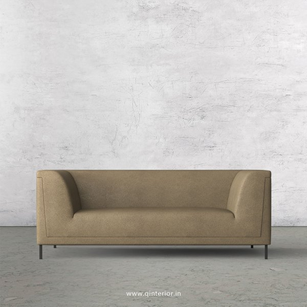 LUXURA 2 Seater Sofa in Fab Leather Fabric - SFA017 FL06