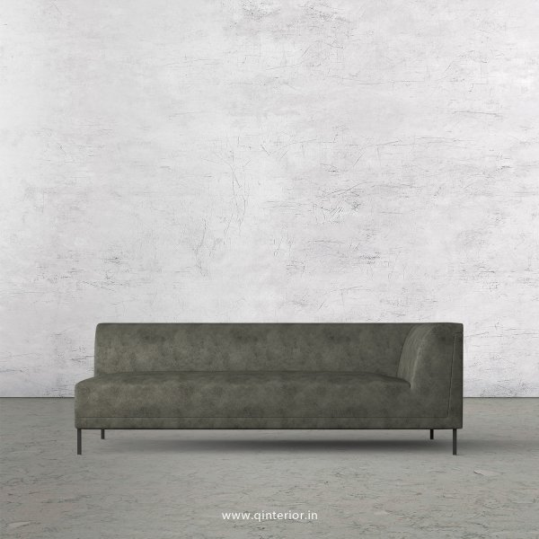 Luxura 3 Seater Modular Sofa in Fab Leather Fabric - MSFA006 FL07