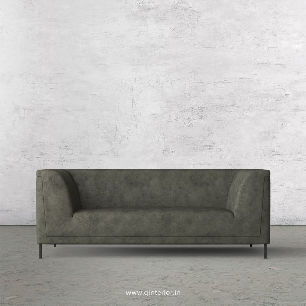 LUXURA 2 Seater Sofa in Fab Leather Fabric - SFA017 FL07