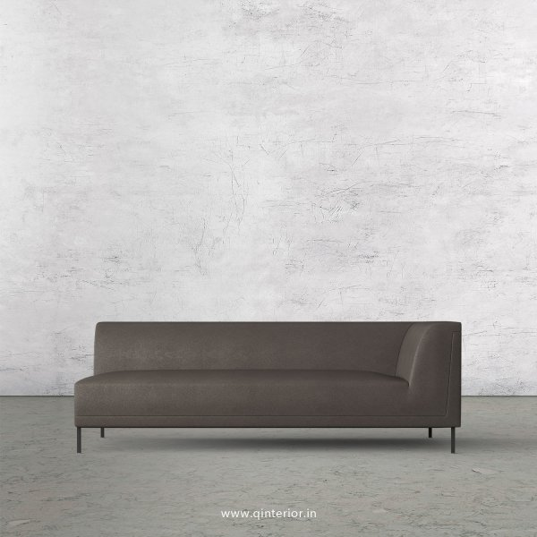 Luxura 3 Seater Modular Sofa in Fab Leather Fabric - MSFA006 FL15
