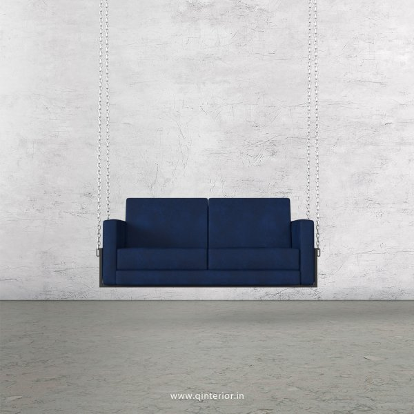 NIRVANA 2 Seater Swing Sofa in Fab Leather Fabric - SSF001 FL05