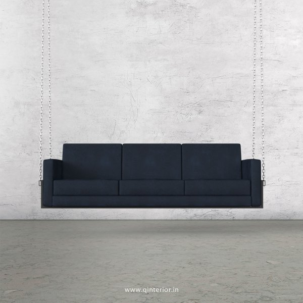 NIRVANA 3 Seater Swing Sofa in Fab Leather Fabric - SSF001 FL13