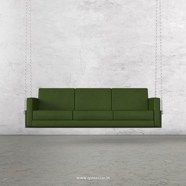 NIRVANA 3 Seater Swing Sofa in Fab Leather Fabric - SSF001 FL04