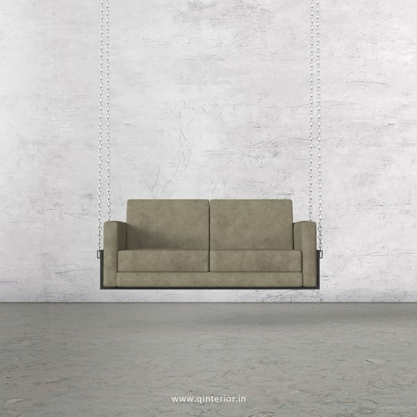 NIRVANA 2 Seater Swing Sofa in Fab Leather Fabric - SSF001 FL06