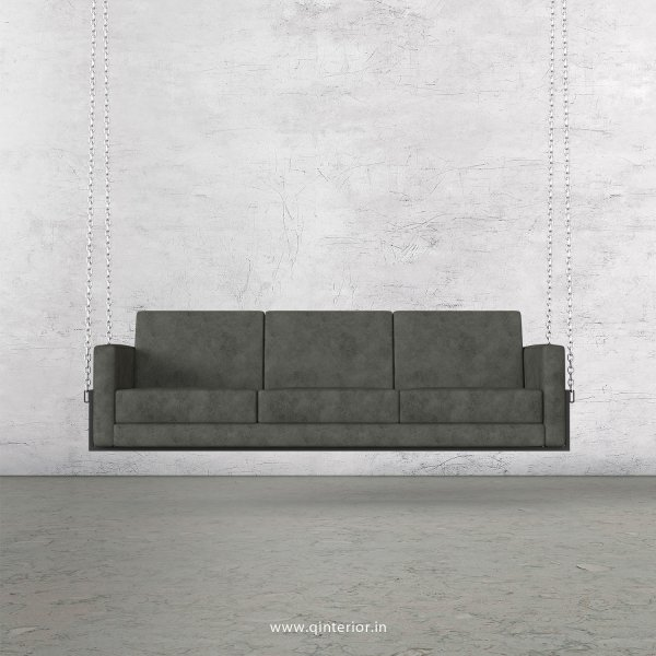 NIRVANA 3 Seater Swing Sofa in Fab Leather Fabric - SSF001 FL07