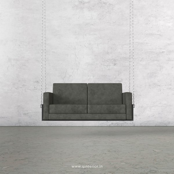 NIRVANA 2 Seater Swing Sofa in Fab Leather Fabric - SSF001 FL07