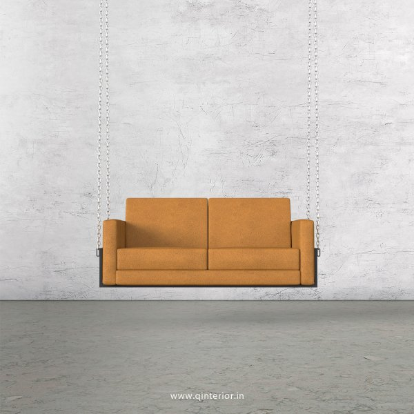 NIRVANA 2 Seater Swing Sofa in Fab Leather Fabric - SSF001 FL14