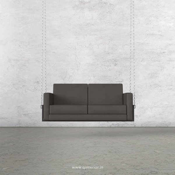 NIRVANA 2 Seater Swing Sofa in Fab Leather Fabric - SSF001 FL15