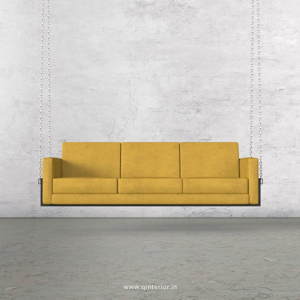 NIRVANA 3 Seater Swing Sofa in Fab Leather Fabric - SSF001 FL18