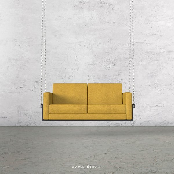 NIRVANA 2 Seater Swing Sofa in Fab Leather Fabric - SSF001 FL18