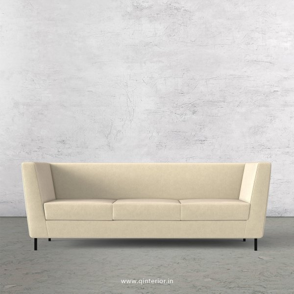Gloria 3 Seater Sofa in Velvet Fabric - SFA018 VL01