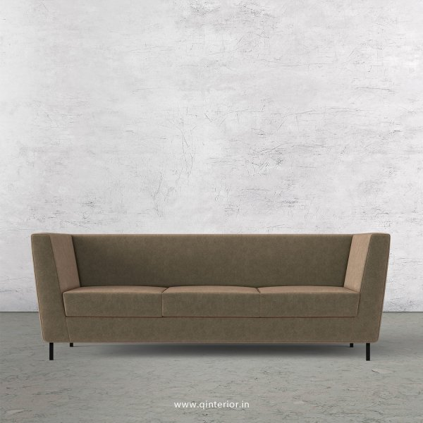 Gloria 3 Seater Sofa in Velvet Fabric - SFA018 VL03