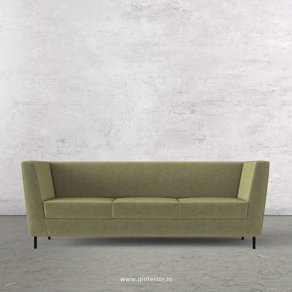 Gloria 3 Seater Sofa in Velvet Fabric - SFA018 VL04