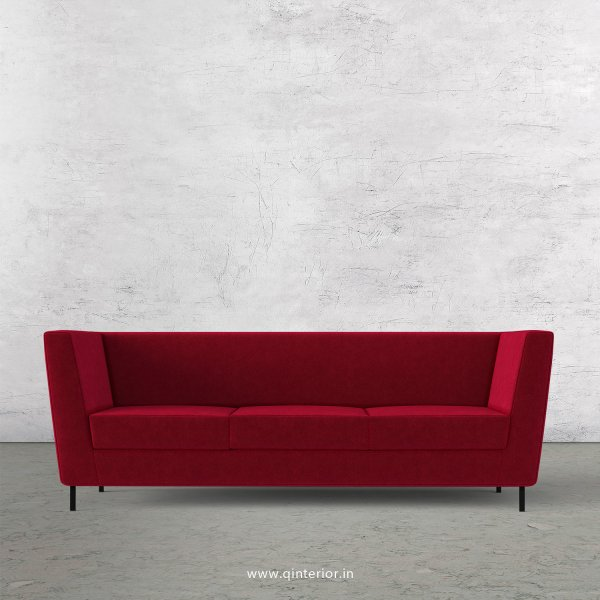 Gloria 3 Seater Sofa in Velvet Fabric - SFA018 VL08
