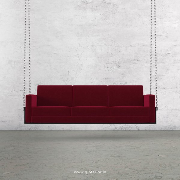 NIRVANA 3 Seater Swing Sofa in Velvet Fabric - SSF001 VL08