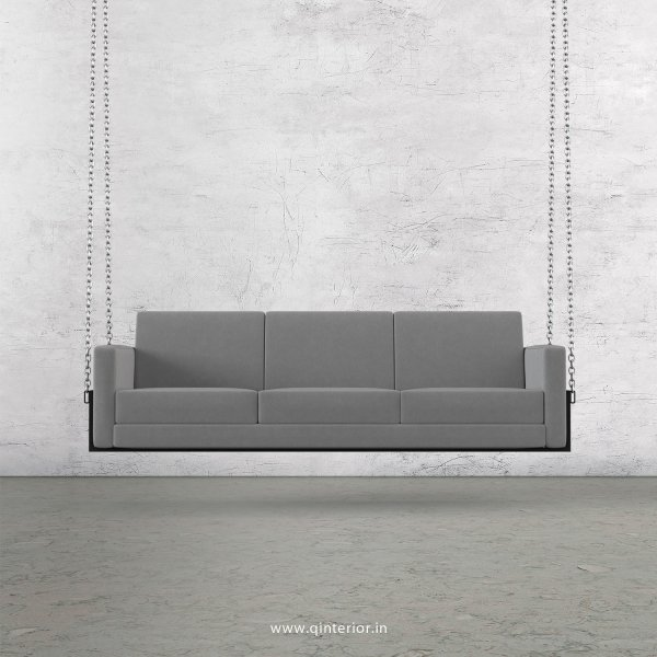 NIRVANA 3 Seater Swing Sofa in Velvet Fabric - SSF001 VL06