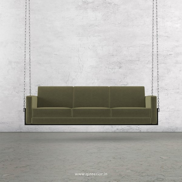 NIRVANA 3 Seater Swing Sofa in Velvet Fabric - SSF001 VL04