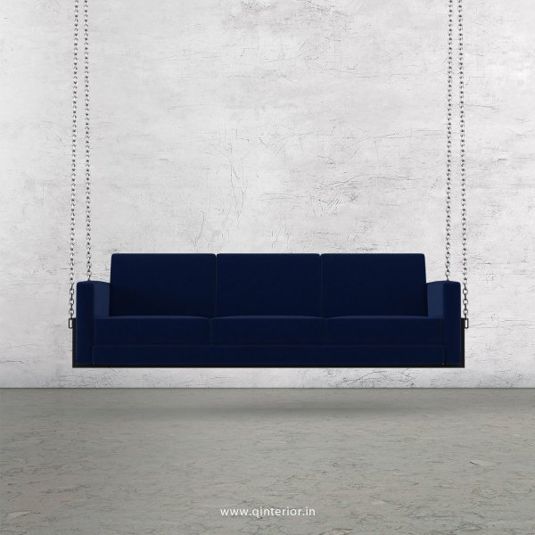 NIRVANA 3 Seater Swing Sofa in Velvet Fabric - SSF001 VL05