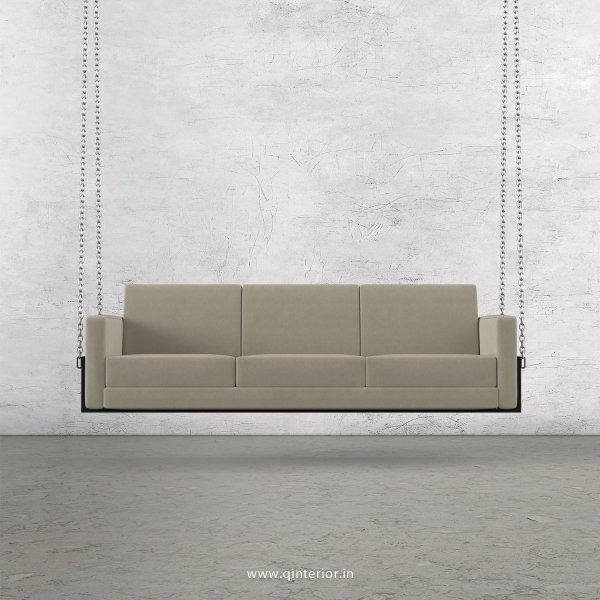 NIRVANA 3 Seater Swing Sofa in Velvet Fabric - SSF001 VL01